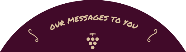 OUR MESSAGES TO YOU